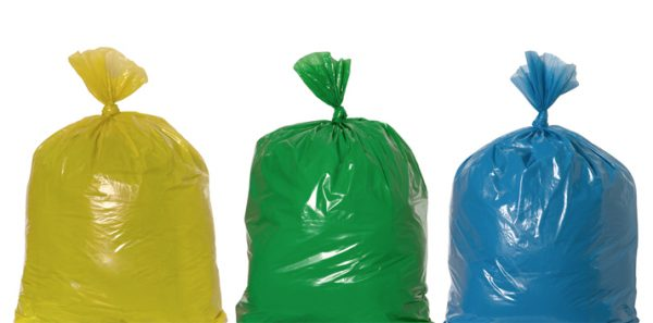 HDPE afvalzakken