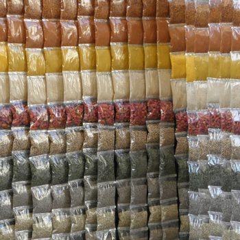 Plastic zakken voor voedingsmiddelen